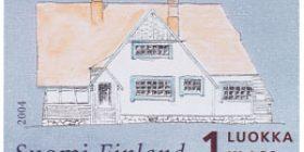 Ainola - Fasaadi  postimerkki 1 luokka