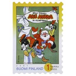 Aku Ankka - Aku Ankka ja kumppanit n:o 1/1951  postimerkki 1 luokka