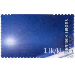 Alppihiihtoa - Antti Autti  postimerkki
