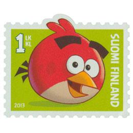 Angry Birds - Punainen lintu  postimerkki 1 luokka