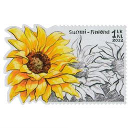 Auringonkukka  postimerkki 1 luokka