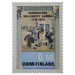 Auroraseura 200 vuotta  postimerkki 0
