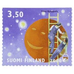 Avaruus - Jupiter  postimerkki 3