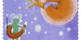 Avaruus - Mars  postimerkki 3
