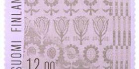 Damastiliina  postimerkki 12 markka