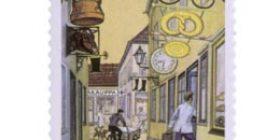 Elinkeinovapaus 100 vuotta  postimerkki 1