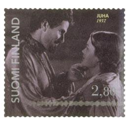 Elokuva 100 vuotta - Juha  postimerkki 2