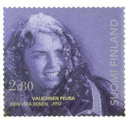 Elokuva 100 vuotta - Valkoinen peura  postimerkki 2
