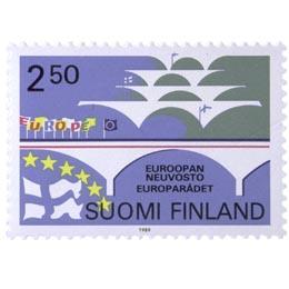 Euroopan neuvosto  postimerkki 2