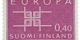 Europa-Cept lila postimerkki 0