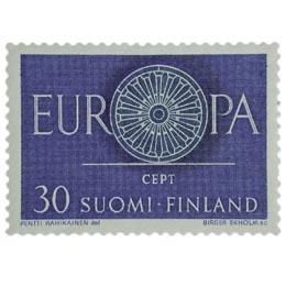 Europa-Cept  postimerkki 30 markka
