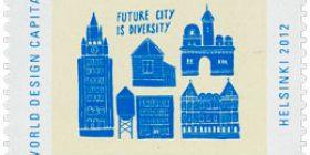 Future City - Future City  postimerkki 1 luokka