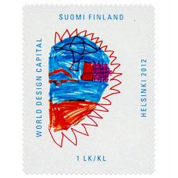 Future City - Kaupungin liike  postimerkki 1 luokka
