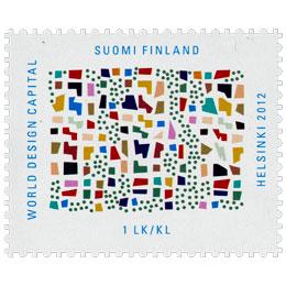 Future City - Mix  postimerkki 1 luokka