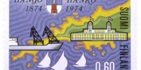Hanko 100 vuotta  postimerkki 0