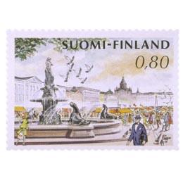 Helsingin kauppatori  postimerkki 0