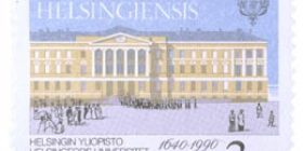Helsingin yliopisto 350 vuotta  postimerkki 3