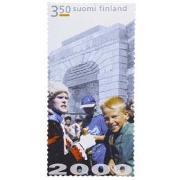 Helsinki 2000 - Suomenlinna  postimerkki 3