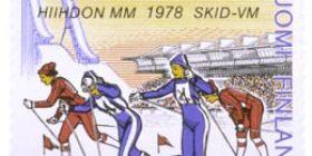 Hiihdon MM-kilpailut Lahdessa  postimerkki 0