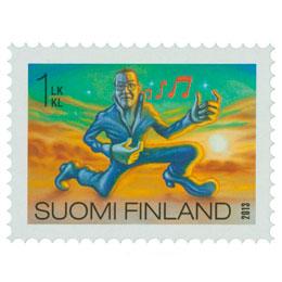 Hullut suomalaiset - Ilmakitaran soitto  postimerkki 1 luokka
