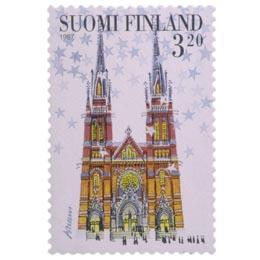 Johanneksen kirkko  postimerkki 3