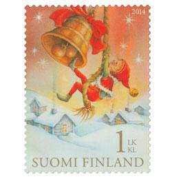 Jouluaamu  postimerkki 1 luokka