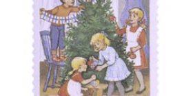 Joulukuusen koristelu  postimerkki 1
