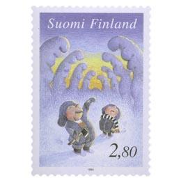 Joulukuusta hakemassa  postimerkki 2