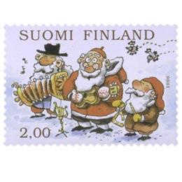Joululaulu  postimerkki 2 markka