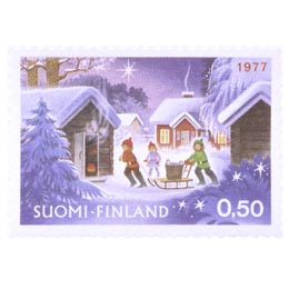 Joulusauna  postimerkki 0