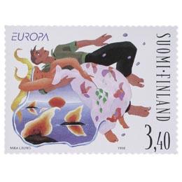 Juhannus  postimerkki 3