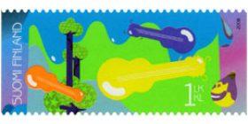 Juhlitaan - Kitara  postimerkki 1 luokka