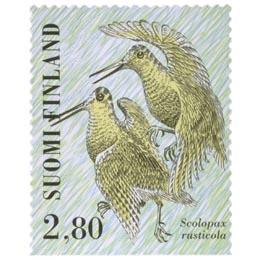 Kahlaajalintuja - Lehtokurppa  postimerkki 2
