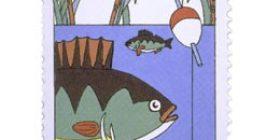 Kalastus - Onginta  postimerkki 2