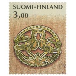 Kalevala - Lintusolki  postimerkki 3 markka