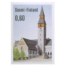 Kansallismuseo  postimerkki 0