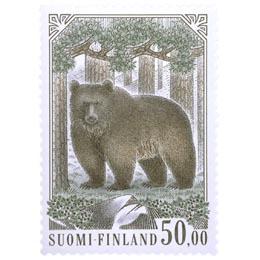 Karhu  postimerkki 50 markka