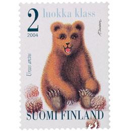 Karhunpentu  postimerkki 2 luokka