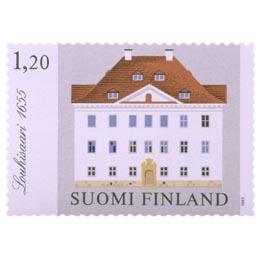 Kartanoita - Louhisaari  postimerkki 1