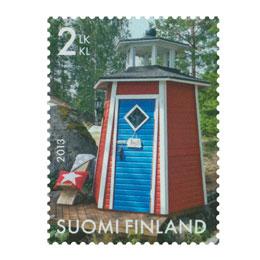 Kauneimmat huussit - Majakka  postimerkki 2 luokka