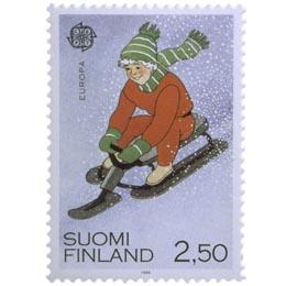 Kelkkailu  postimerkki 2