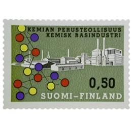 Kemian perusteollisuus  postimerkki 0