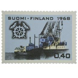 Keskuskauppakamari 50 vuotta  postimerkki 0