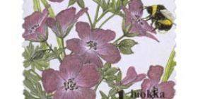 Ketokukkia - Verikurjenpolvi  postimerkki 1 luokka