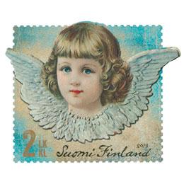 Kiiltokuvaenkeli  postimerkki 2 luokka