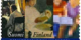 Kirjankustannus 150 vuotta  postimerkki 1 luokka