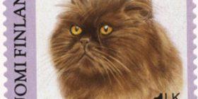 Kissoja - Persialainen  postimerkki 1 luokka