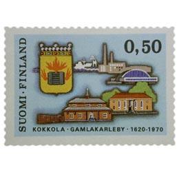 Kokkola 350 vuotta  postimerkki 0