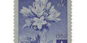 Kukkia - Peurankello sininen postimerkki 15 markka