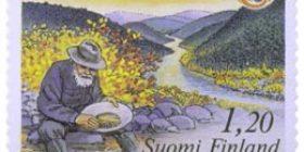 Kullanhuuhdonta  postimerkki 1